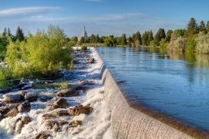 Image of Idaho Falls.