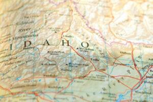 Image of Idaho map.